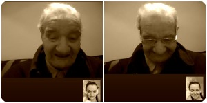 skype collage