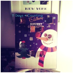 advent calender collage