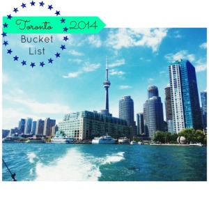 toronto skyline bucket list