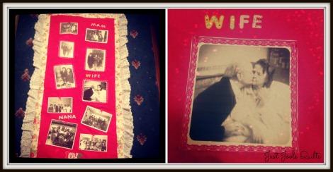 memorial quilt collage